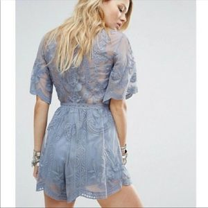 Gorgeous honey punch romper